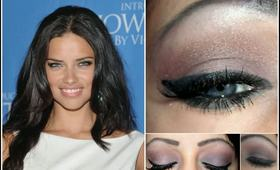 How To: Adriana Lima Smokey Eye