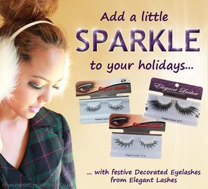 Holiday Sparkle_diamond rhinestone eyelashes
