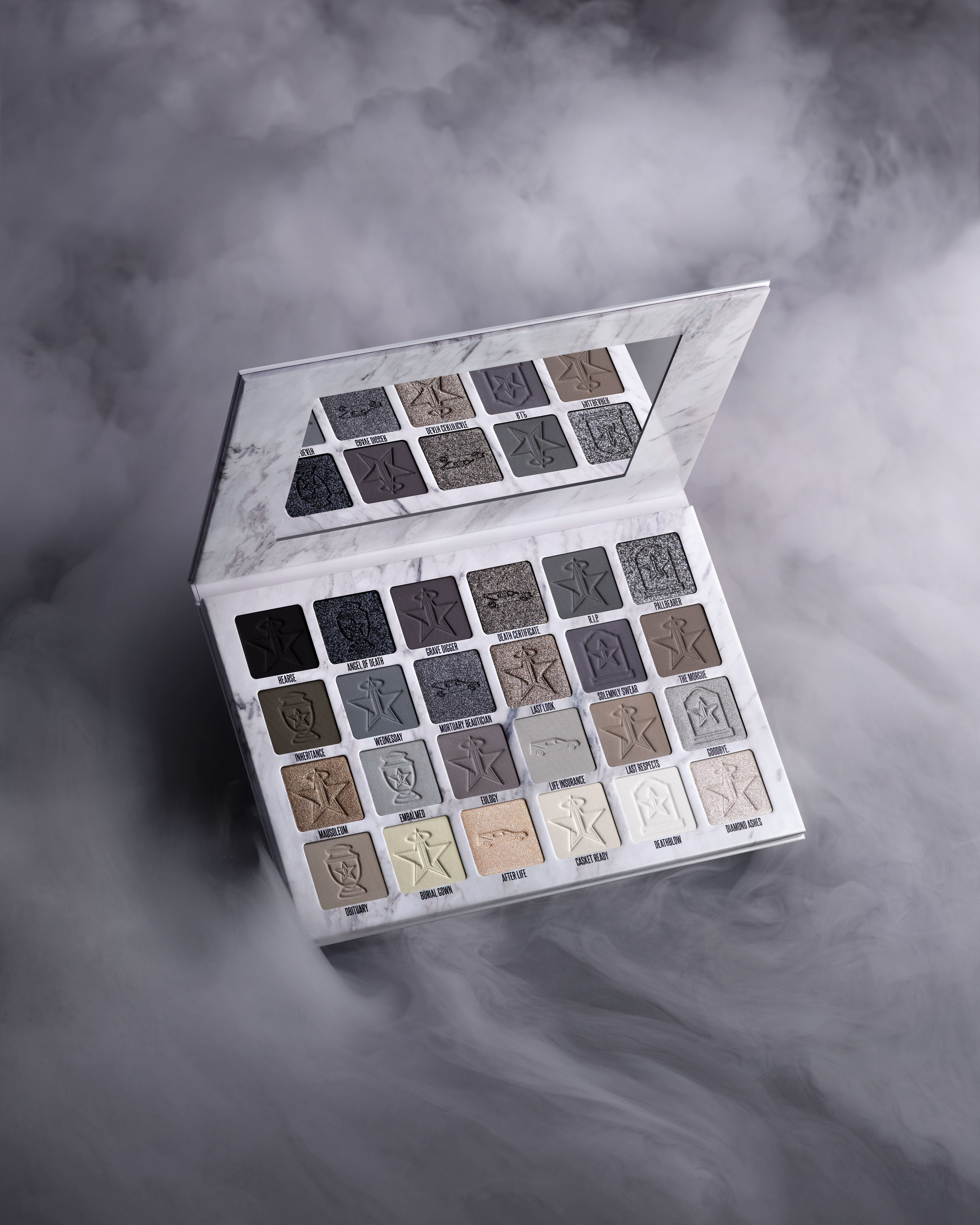 Alternate product image for Cremated Eyeshadow Palette shown with the description.