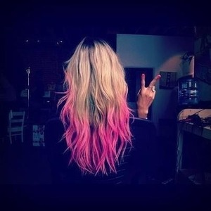 Pink tips. Want.