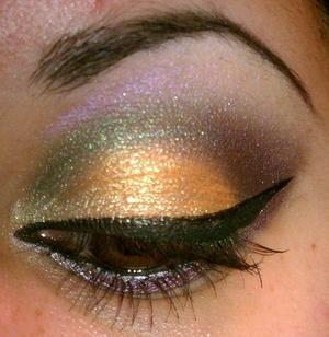 used the Coastal Scents Smokey Palette