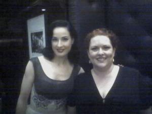Dita Von Teese and me