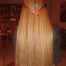 Rachelle H.'s hair straighted