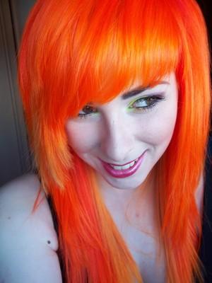 smiles an hair :3