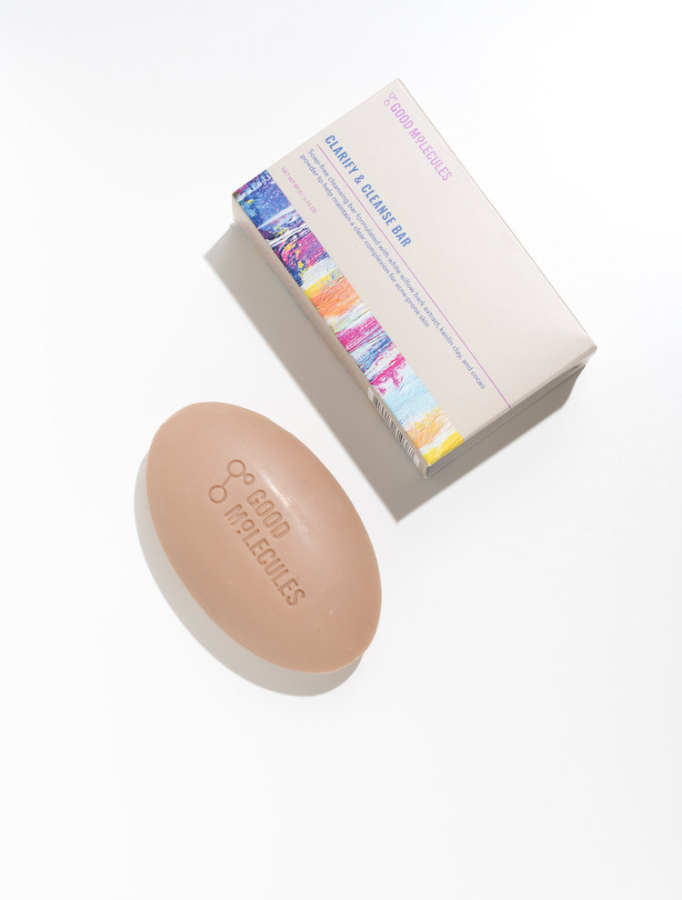 Alternate product image for Clarify & Cleanse Bar shown with the description.