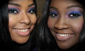 New Year's Eve Makeup Tutorial for Dark Skin!