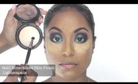 Beyonce Mine + Blow Mashup Makeup Tutorial