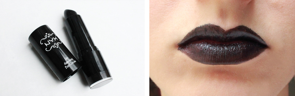Best Black Lipstick: NYX
