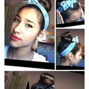 Cute sock bun should i do tutorial?'