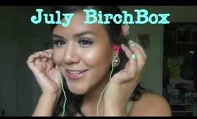 July BirchBox - Glamour 2012