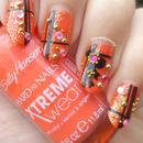Gift Wrapped Nail Art