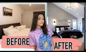 MASTER BEDROOM MAKEOVER FOR MY BOYFRIEND | Bethany Mota