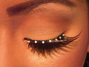 I has a slight obsession with eyelashes!