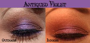 Antiqued Violet