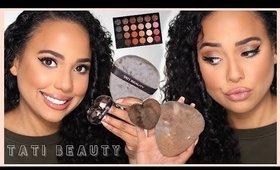 I Tried a Full Face Using the Tati Beauty Blendiful | Ashley Bond Beauty