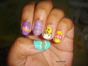 http://mypolish100.blogspot.in/2013/03/easter-egg-nails.html