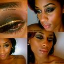 Golden Liner Smokey Eye