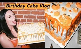 Making My Own Birthday Cake! Bake With Me Vlog 🎂 | Olivia Frescura