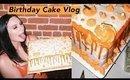 Making My Own Birthday Cake! Bake With Me Vlog 🎂 | Olivia Frescura