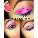 Water melon eyes