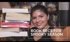 October Book Recs for Spooky Season! || Marya Zamora