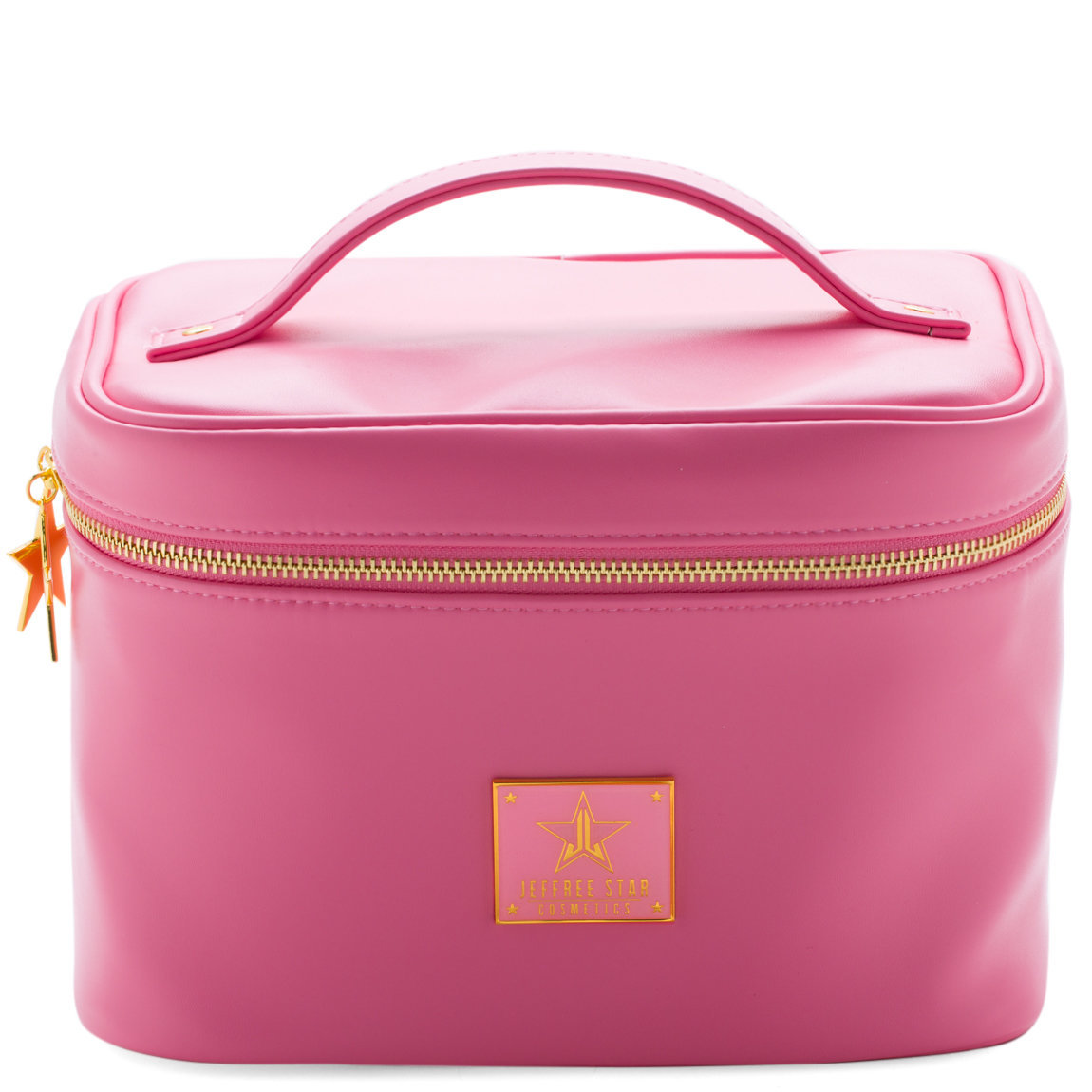 Jeffree Star Cosmetics Travel Makeup Bag Baby Pink product smear.