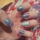 Addicted to Leopard Nails