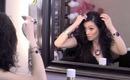 How To Swoop Bangs Hair Tutorial