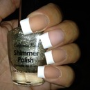French Manicure Acrylic Glue On Nails By California Nails