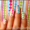 Fabric Inspiration Nails