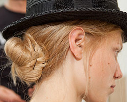 Band of Outsiders Hair, New York Fashion Week S/S 2012