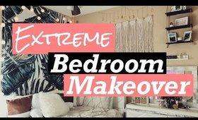 ULTIMATE BEDROOM MAKEOVER | 2020 BEDROOM REDO ON A BUDGET