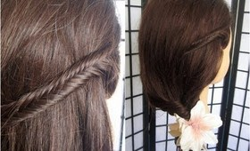 3 Fishtail Braids | Everyday & Occasion Hairstyle