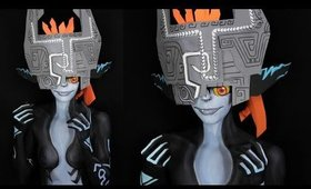 Zelda: Cursed Midna Makeup Tutorial