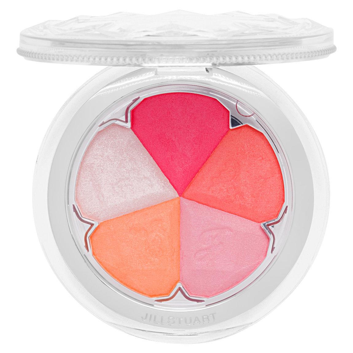 JILL STUART Beauty Bloom Mix Blush Compact 01 product swatch.