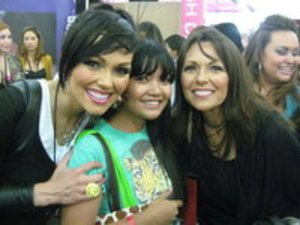 with Kandee and her mom at Imats 2010