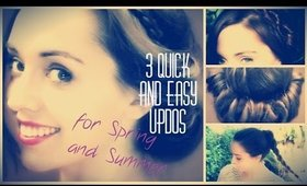 3 easy glam hairstyles II PATTYSWAY youtube