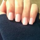 pink sheer nails