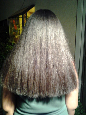 Flat Iron and Haircut After Redken Smooth Lock texture service is applied. Photo 5