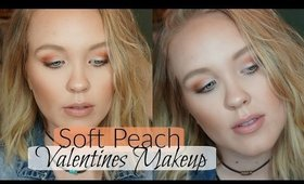 VALENTINES DAY MAKEUP | TOO FACED SWEET PEACH PALETTE