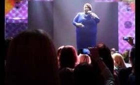 Shirma Rouse singing her heart out @ the GOLDWELL Color Zoom '14 Amsterdam