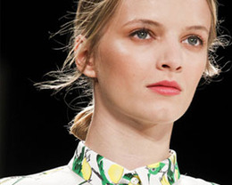 Carolina Herrera Makeup, New York Fashion Week S/S 2012