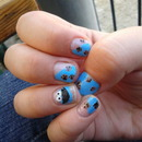 cookie monster nails :)