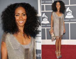Grammys Hair 2011: Jada Pinkett Smith