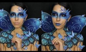 SNAPCHAT BUTTERFLY FAIRY HALLOWEEN MAKEUP TUTORIAL