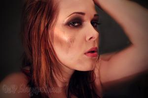 Anna Abreu ♥ Rush CD-Cover MakeUp