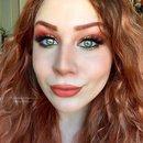 Summery Gold and Apricot Smokey Eye Makeup Tutorial