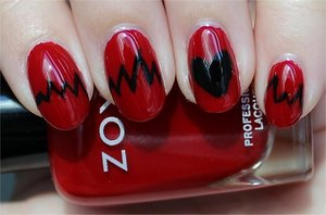 See my tutorial & more swatches here: http://www.swatchandlearn.com/nail-art-tutorial-heartbeat-nails/