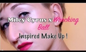Miley Cyrus Wrecking ball Official Make up Tutorial