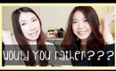 Would You Rather (Non-Beauty)... With Zen + Bloopers!  | Bethni